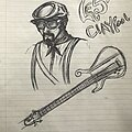 Les Claypool - Other Collectable - Les Claypool Sketch