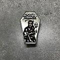 King Diamond - Pin / Badge - King Diamond Coffin Pin