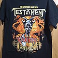 Testament - TShirt or Longsleeve - The Bay strikes back tour t-shirt