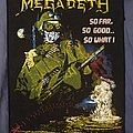 "Megadeth ""So far, so good...so what!"" Vintage back patch"
