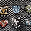 Wacken patches 2014-2019