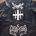 Mayhem - Battle Jacket - Black Metal Leather Jacket