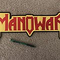 Manowar Logo - Embroidered 16 inches across