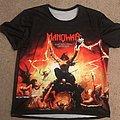 "Manowar Athletic Gym shirt ""The Triumph of Steel"""