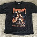 "Manowar ""Hell on Stage"" T-Shirt - Size XL"