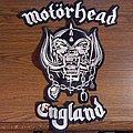 Motorhead 3 piece patch