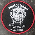 Motörhead - Patch - Loudest Band In The World patch