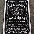 Motörhead - Patch - Ian Kilmister patch