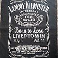 Motörhead - Patch - Lemmy Jack Daniels patch