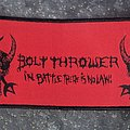 Bolt Thrower - Patch - In Battle There Is No Law super strip patch