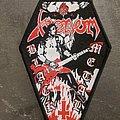 Venom - Patch - Cronos Black Metal coffin patch