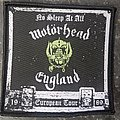 Motörhead - Patch - No Sleep At All patch