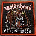 Motörhead - Patch - Motorhead Orgasmatron [bootleg]