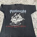 Onslaught - TShirt or Longsleeve - Onslaught 1987 Power From Hell - The Force shirt