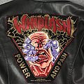 Leather Jacket with Whiplash Back Patch