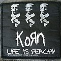 Korn - Patch - Korn - Life is Peachy patch