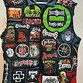 Godflesh - Battle Jacket - Battle vest front finished