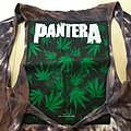 Pantera weed cannabis backpatch 1993
