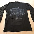 Death Live in L.A. / The sound of perseverance TShirt or Longsleeve