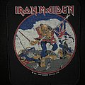 Iron Maiden - Patch - Iron Maiden - The Trooper 1984 VTG Patch