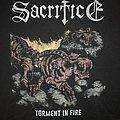 Sacrifice - TShirt or Longsleeve - Sacrifice - Tourment In Fire Shirt