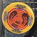 Anthrax - Pin / Badge - Anthrax - State Of Euphoria Pin