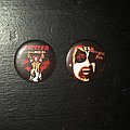 Exciter - Pin / Badge - Exciter & Merycful Fate pins For SPEED_METAL_GHOUL