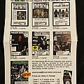 Overkill - Other Collectable - Overkill Powersurge Fanclub Ad