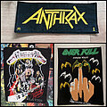 Anthrax - Patch - wanted patches