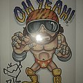 Gwar - Other Collectable - Randy Savage Poster Signed By Balsac..