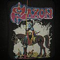 Saxon - Patch - Saxon - Crusader 1984 VTG Patch