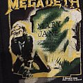 Megadeth - Mary Jane Patch & Autographed Anthrax Piece