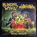 Municipal Waste - Tape / Vinyl / CD / Recording etc - Municipal Waste / Toxic Holocaust - Toxic Waste Tankcrimes Colored Vinyl Split