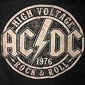 AC/DC - TShirt or Longsleeve - Official AC/DC High Voltage Shirt