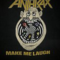 "VINTAGE 1988 Anthrax ""Make Me Laugh"" Road To Euphoria/Monsters Of Rock Tour Shirt"