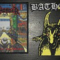 Exhorder & Bathory Woven Patches
