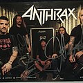 Anthrax - Other Collectable - Anthrax Signed Peice
