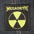 Megadeth - Patch - Vintage Megadeth Logo Patch