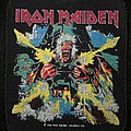 Iron Maiden - Patch - Iron Maiden - Tailgunner - Licensed Printed Patch 1990