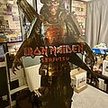 Iron Maiden - Other Collectable - Iron Maiden Senjutsu giant cardboard cut out advert stand