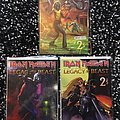 Iron Maiden Legacy Of The Beast No2 volume 2 all three covers.