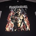 Iron Maiden - TShirt or Longsleeve - Iron Maiden Eddie in flames The Book Of Souls tour 2017 t-shirt