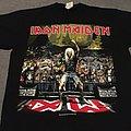 Iron Maiden Metal 2000 Earls Court event shirt