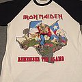 Iron Maiden Remember the Alamo 1983 tour shirt re issue
