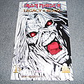 Iron Maiden Legacy Of The Beast No1 Forbidden Planet exclusive cover signed ltd edition.