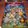 Iron Maiden Best Of The Beast giant billboard poster