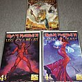 Iron Maiden Legacy Of The Beast No 4 all three covers