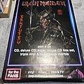 Iron Maiden - Other Collectable - Iron Maiden Senjutsu giant HMV ad poster
