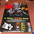 Iron Maiden A Real Dead One + Donington 1992 giant billboard poster