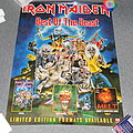 Iron Maiden Best Of The Beast advertising poster